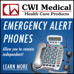 All our emergency alert phones at CWI Medical bring peace of mind.