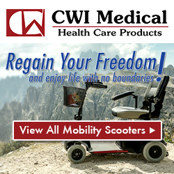 Regain your freedom with our mobility products at CWI Medical.