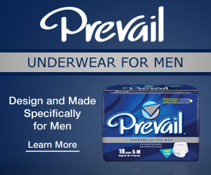 Try our Prevail Mens Products.