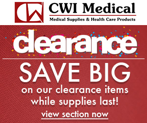 Take a look at CWI Medical's Clearance Section!