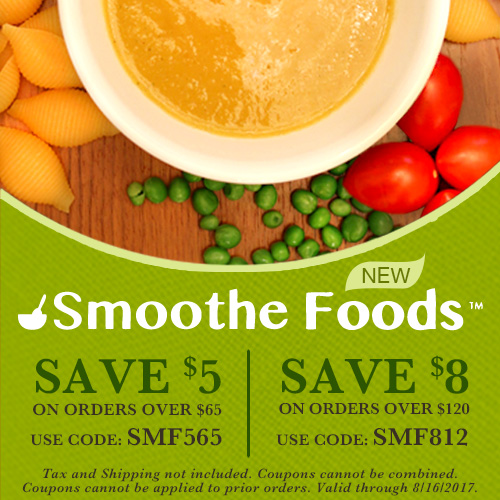 Try Our Smoothe Foods and Save!