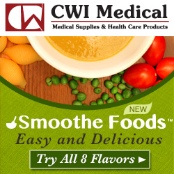 Smoothe Foods are great for multiple eating difficulties. Available at CWI Medical.