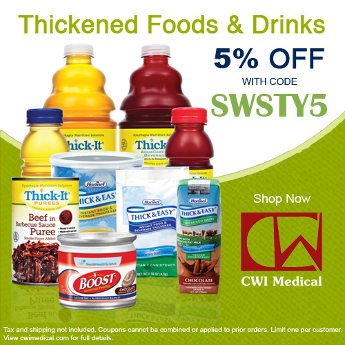 Coupon code: SWSTY5 for 5% off CWI Medical supplies.
