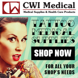 Find a full line of Tattoo Medical Supplies Today!