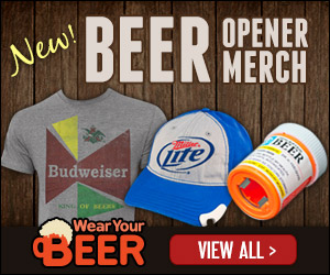 Open your Beer with your Shirt on Memorial Day!