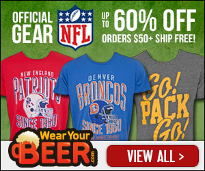 Up to 60% off all NFL Gear