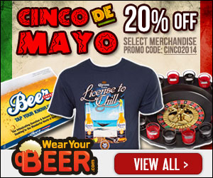 20% Off all Cinco De Mayo Apparel with code CINCO2014