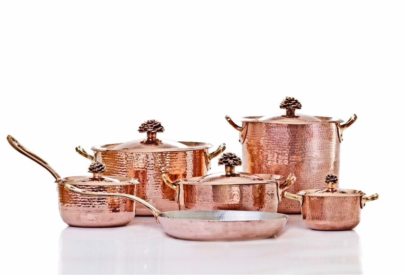 Amoretti Brothers Copper Cookware Set Collection