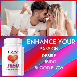 Female Enhancement Libido Booster Intimacy Mood Energy Sensitivity Lubrication Hormones Balance