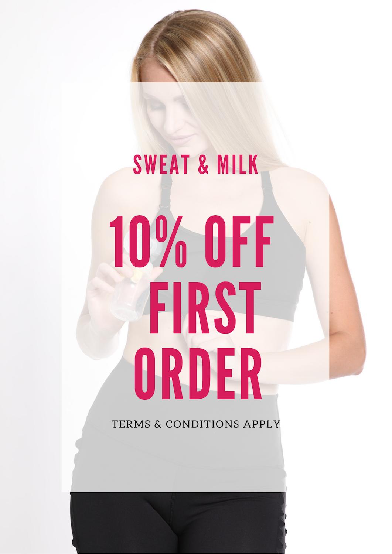 sweatandmilk.com - 10% Off First Order
