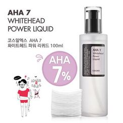 COSRX - AHA 7 WHITEHEAD Эссенция Жидкость 100 мл.