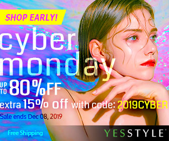 CYBER MONDAY Up to 80% OFF + extra 15% OFF with 2019CYBER