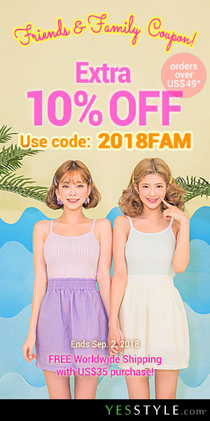 Friends & Family Coupon Extra 10% OFF orders over US$49