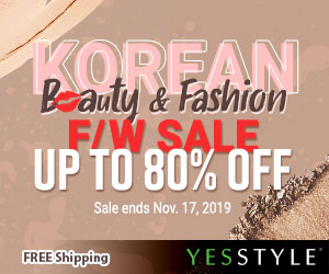 Korean Beauty & Fashion F/W Sale Up to 80% OFF