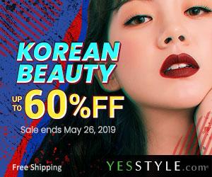 Korean Beauty Sale Up yo 60% OFF!