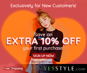 Save Extra 10% OFF First Orders Over US$35!