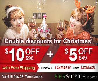Double Discounts For Christmas At YesStyle!!