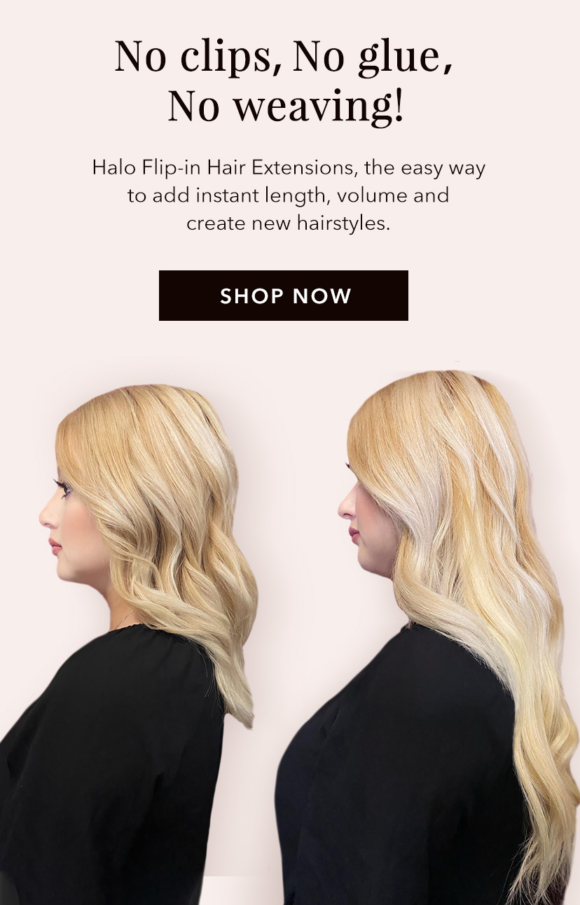Halo & Flip-In Hair Extensions