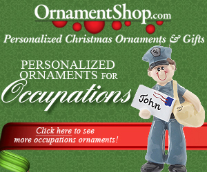 Occupations Christmas Ornaments