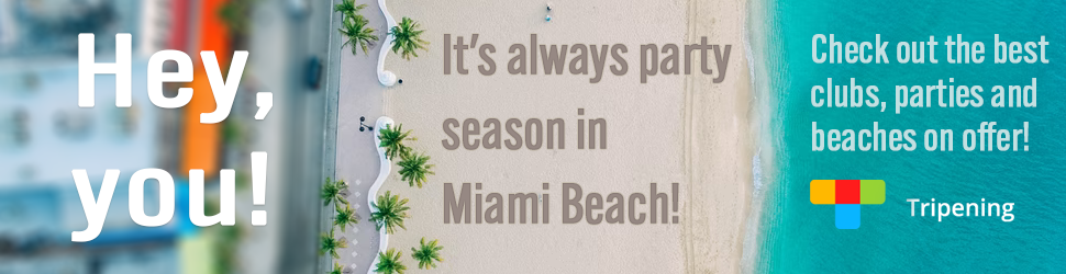 It's always party season in Miami Beach! Check out the best clubs, parties and beaches on offer!