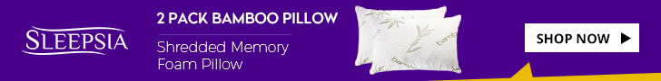 Sleepsia Bamboo Pillow