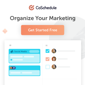 Try CoSchedule's Marketing Calendar software free for 14-days.