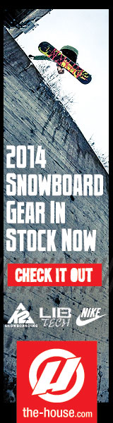 2014 Snowboard Gear Has Arrived at The-House.com! Check It Out Now!  Burton, K2, Rossignol, LibTech, Nike, and Many More.