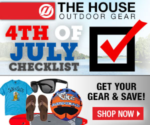 Get Your Gear for the 4th of July at Up to 40% Off!  Clothing, Sandals, Sunglasses, Towables, and Much More.  Shop Now!