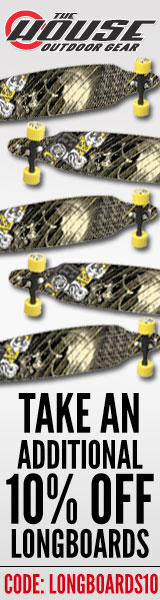 Additional 10% Off All Longboards at The-House.com!  Sector9, GoldCoast, Globe and More!  Code: longboards10