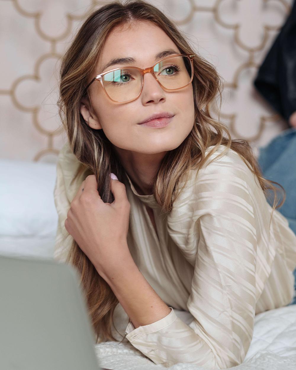 blue light blocking glasses for women