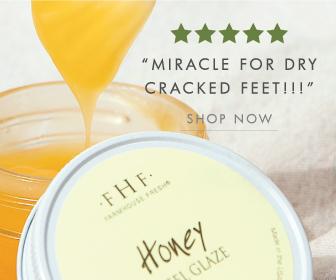 Honey Heel Glaze Pedicure in a Jar