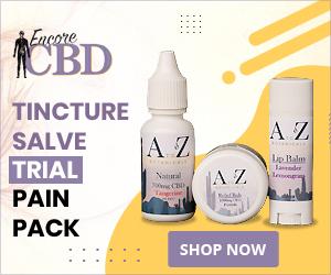 Encore CBD Tincture Salve Trial Pain Pack