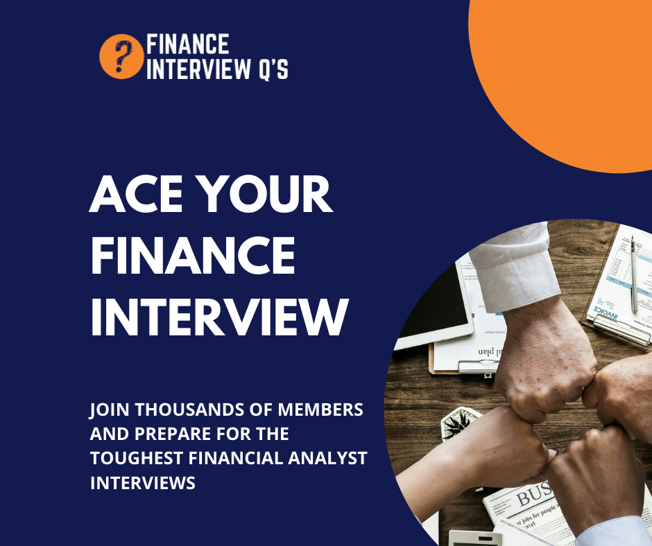 Ace your finance interview