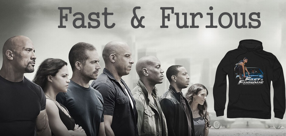 The Fast And The Furious Tee Shirts