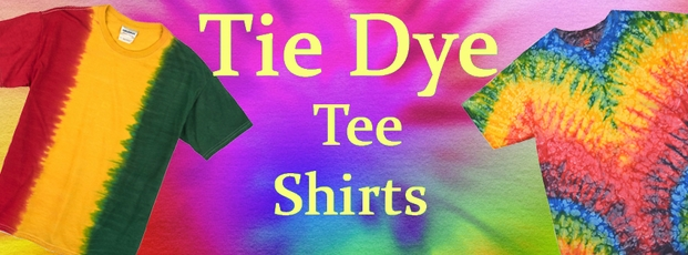 Tie Dye Tee Shirts & Clothes