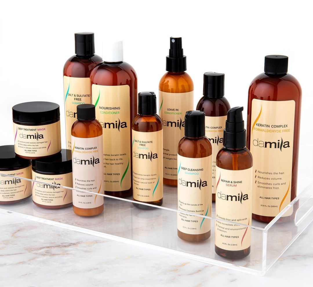 Complete range of Hair-Care products - Damila