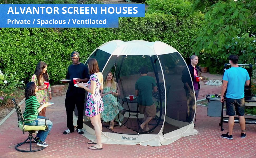 Alvantor Screen House Room Camping Tent