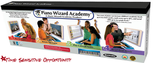 Piano Wizard Academy Complete Special Offer