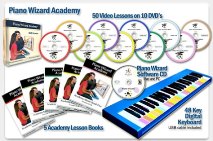 Piano Wizard Academy Complete Bundle