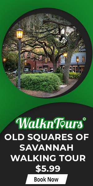Old Squares of Savannah Walking Tour