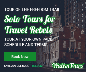 The Freedom Trail Smart Phone Guided Tour
