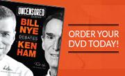 Nye Ham Debate Pre-order DVD now!