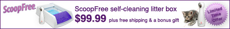 ScoopFree Self-Cleaning litter box special offer