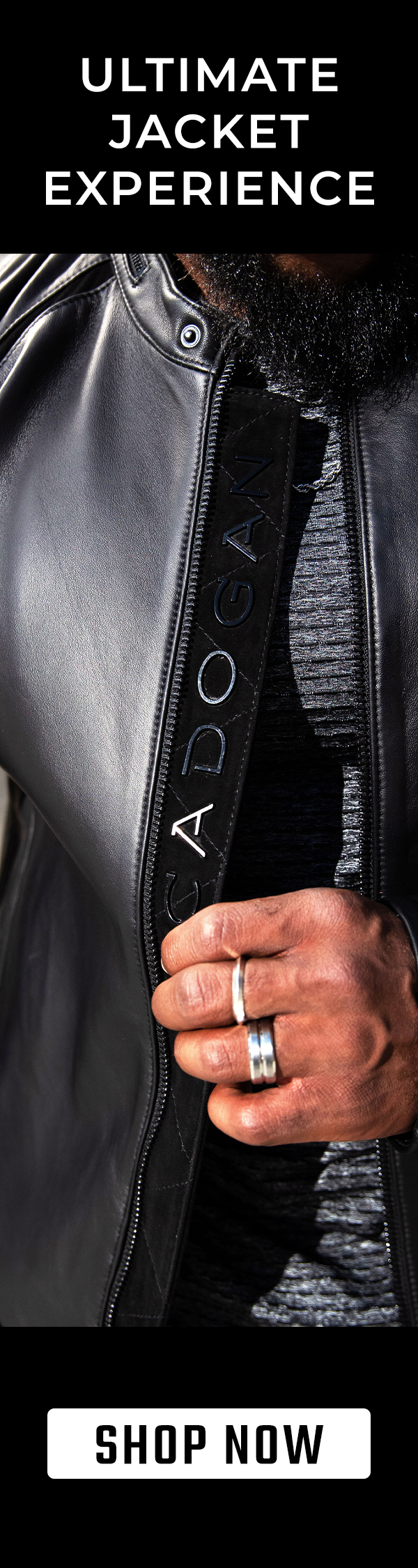 CADOGAN - POWERED BY PURPOSE. SOLIDIFIED BY STYLE.