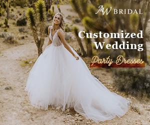 AW Bridal Customized Wedding Dress