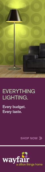 Wayfair.com everything lighting, home, furniture and garden