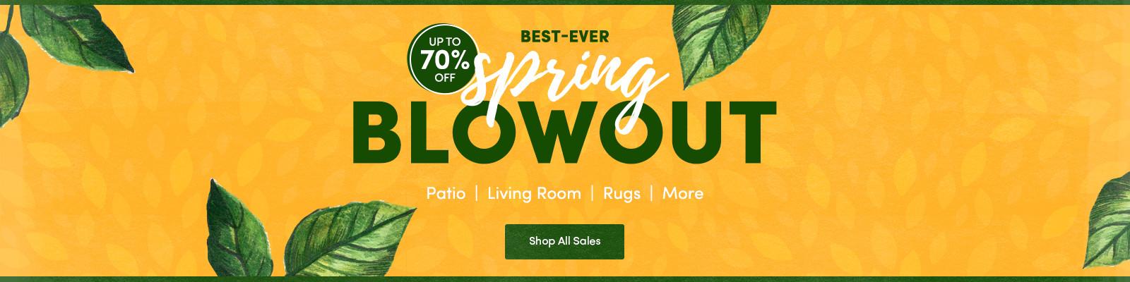 70 % OFF Spring Sale! Patio U2013 Living Room U2013 Rugs U0026 More!