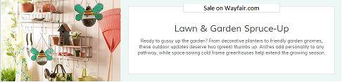 Lawn & Garden Spruce-Up Sale