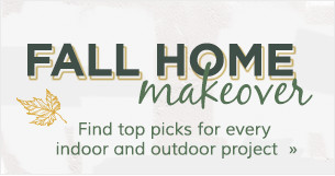 Fall Home Makeover Sale