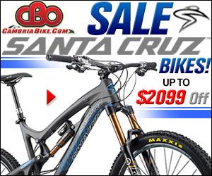 "26"", 27.5"" & 29""Santa Cruz Sale Bikes & Frames to $2099 Off!"